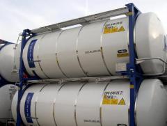 Аренда танк-контейнеров для перевозки продуктов химических