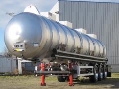 Rental of tanks for transportation of chemical