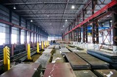 Ответственное хранение металлопроката на складе крытом
