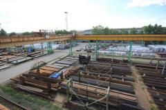 Хранение металлопроката на складах открытых