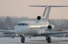 Бизнес-перевозка на самолетах с VIP-салоном