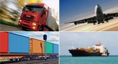 Multimodal container transportation