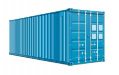 Transportation of cargo in standard containers