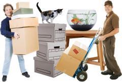 Transportation of personal belongings