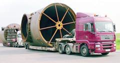 Перевозка грузов проектных