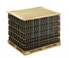 Transportation of empties on pallets