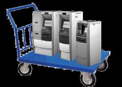 Transportation of cash machines