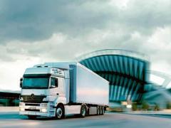 Перевозка автомобильная классифицированная по видам грузов