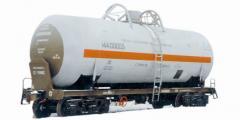 Доставка аммиака транспортом железнодорожным