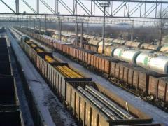Предоставление на железную дорогу заявок на перевозку груза