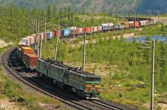 Services in railway goods transportation