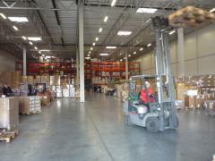 Перевалка груза на таможенно-лицензионных складах
