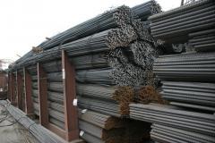 Складирование металлов с возможностью порезки