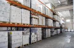 Services of warehousing and distributor deliveries