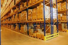 Услуги складские по хранению товаров