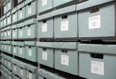 Складское хранение архивов деловых