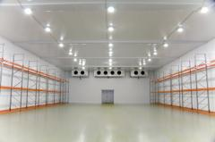 Warehouses with refrigerating chambers