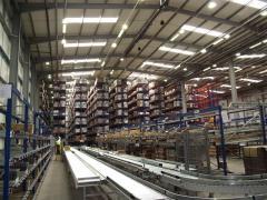 Услуга складов для хранения сухих продуктов