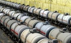 Транспортирование нефти сырой