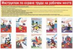 Создание плакатов и стендов с инструктажем по охране труда