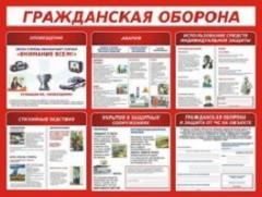Изготовление плакатов и стендов по гражданской обороне