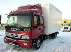 Перевозки грузов международные, Перевозки по  СНГ
