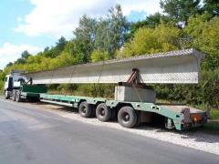 Carrying of long loads