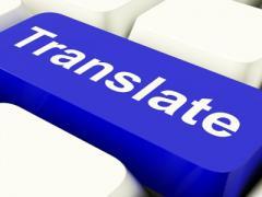 Tjenester av oversettere