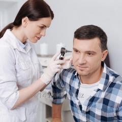 Проверка слуха (аудиограмма)