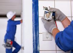 Household electrowires installation