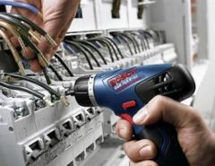 Services in repairing of electric machines and