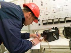 Service maintenance of industrial electrical