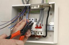 Installation of means of automatic protection of