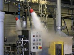 Designing of automatic fire fighting Equipment