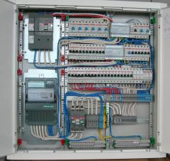 Installation of electricity boards