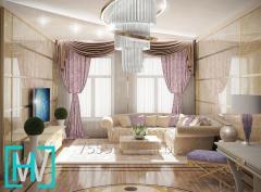 Реализуемый дизайн интерьера в Алматы