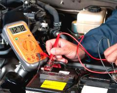 Repair of an autoelectric equipment