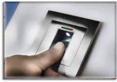 Installing of biometric access control systems