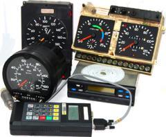 Repair, service, calibration of tachographs