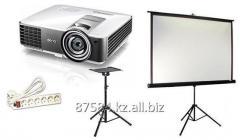 Прокат проектора и аренда экрана в Алматы от 3000 тг - Для презентаций, конференции, свадеб