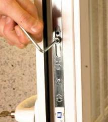 Repair of metalplastic windows, doors and other