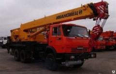 Услуги автокрана КамАЗ 25 тонн