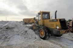 Очистка от снега и вывоз