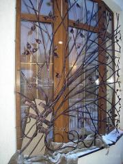 Production of window lattices