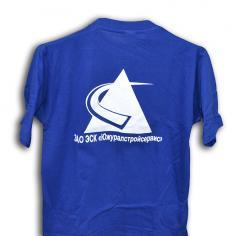 Нанесение символики на футболки