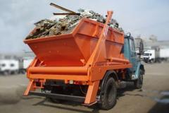 Вывоз строительного мусора в Астане. Бункеровозы, контейнеровозы!