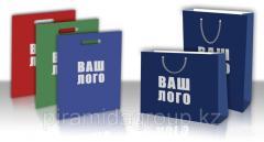 Изготовление бумажных пакетов с логотипом в Алматы, арт. 37723219