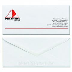 Конверт печать на конвертах изготовление конвертов в Алматы, арт. 42422516