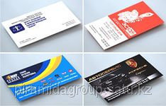 Печать визиток в Алматы, арт. 4556331