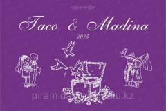 Изготовление Press Wall на свадьбу в Алматы, арт. 14566037